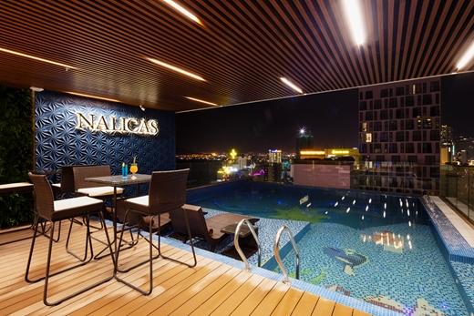 The pool - nalicas hotel