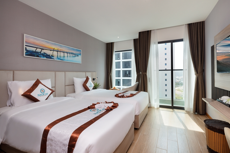 Bed type : 02 bed 1,1mNumber of rooms :48Area : 24m2Balcony, sea view